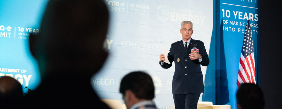 Gen. Selva speaks at ARPA-E Energy Innovation Summit