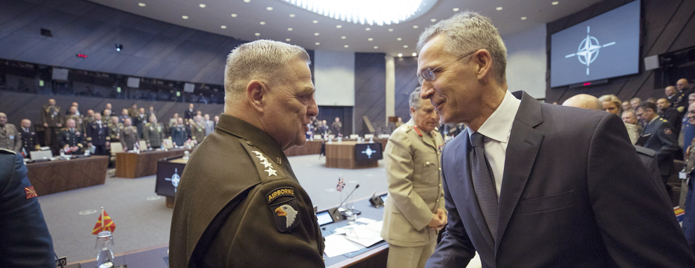NATO Nations Cannot Be Complacent, Milley Says