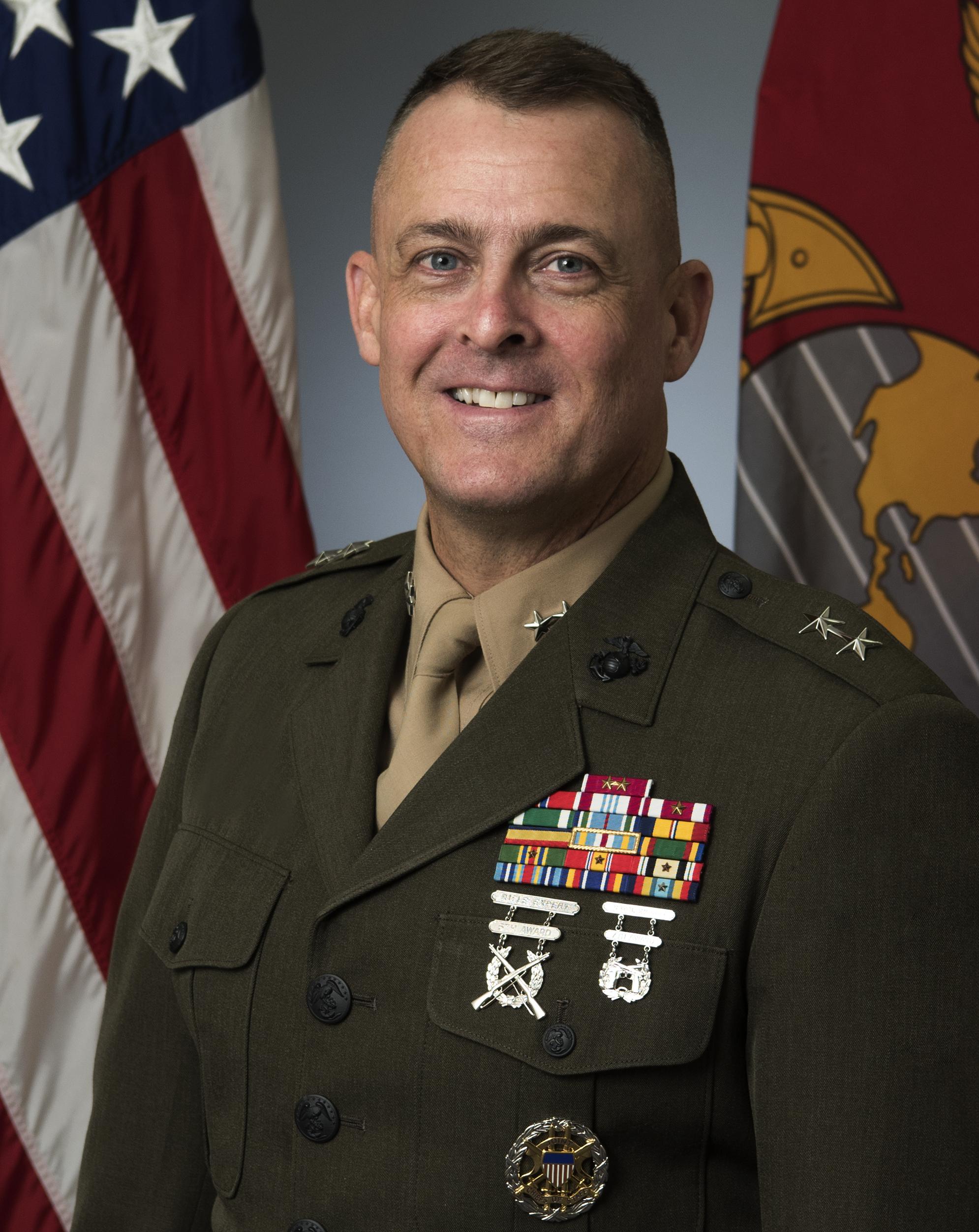 Lovely Major General Michael S. Groen