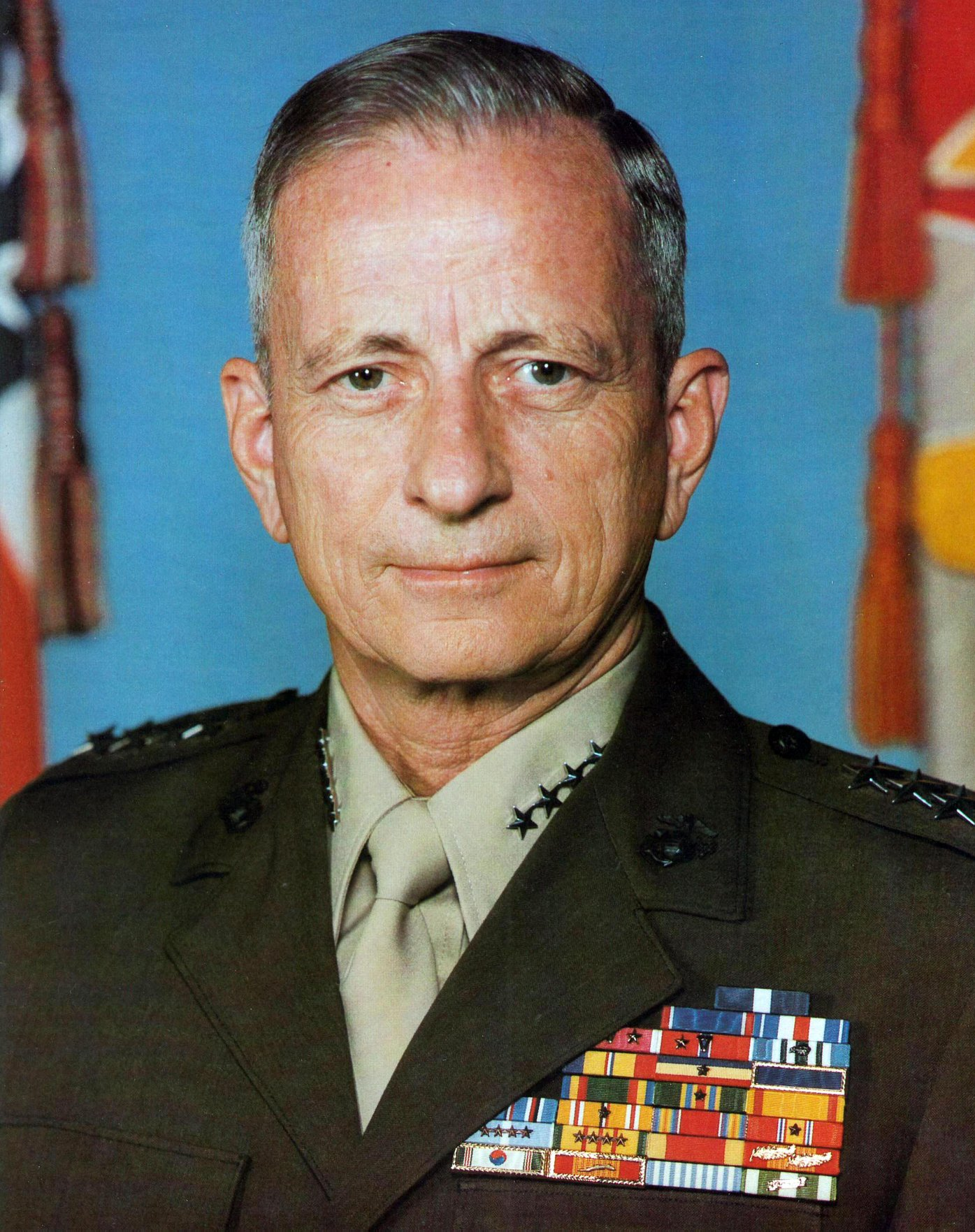 Gen. Robert H. Barrow, 27th commandant of the Marine Corps