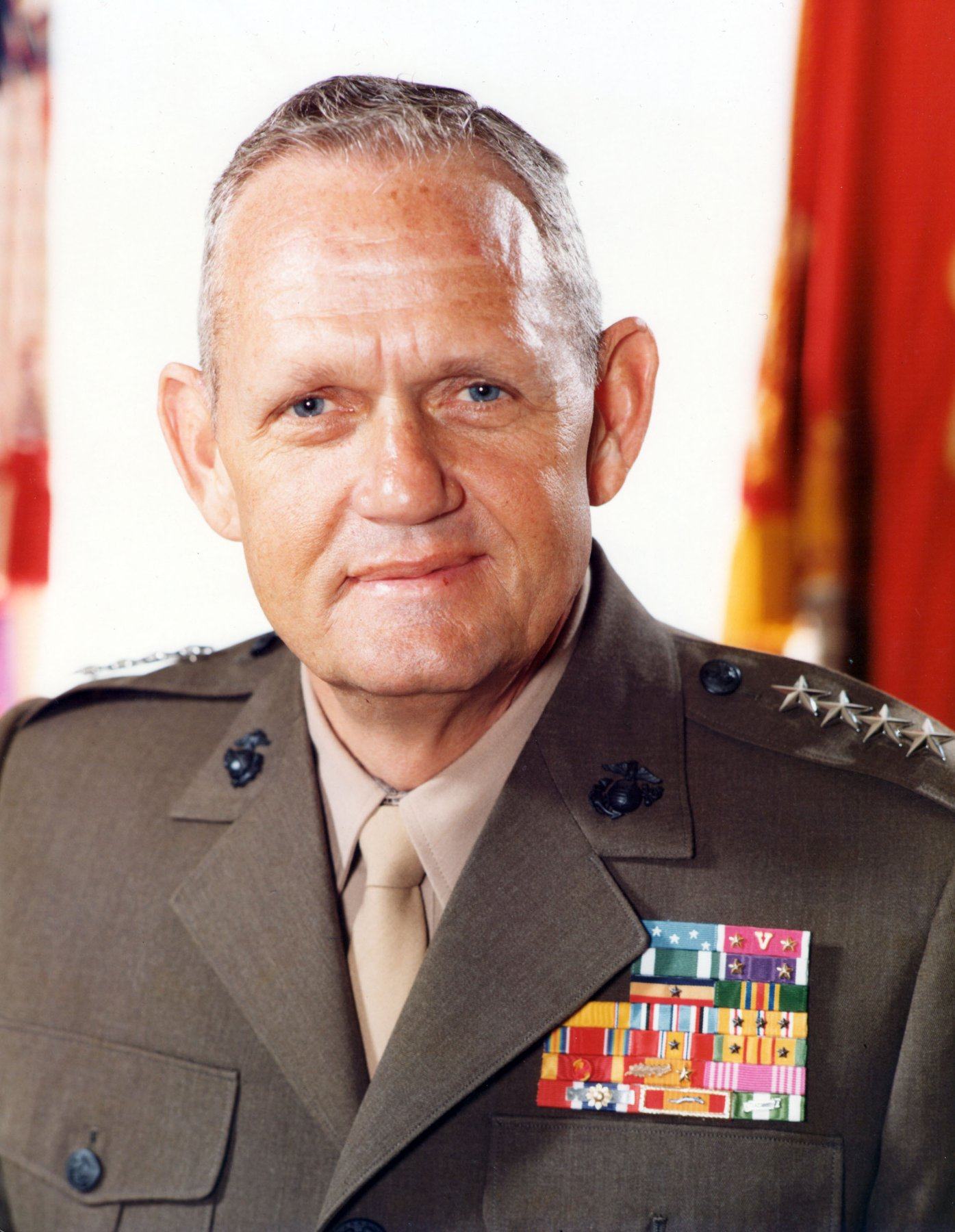 Gen. Louis H. Wilson Jr., 26th commandant of the Marine Corps